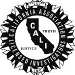Logo for the California Association of Licensed Investigators